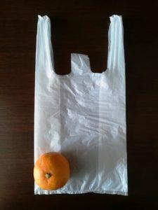 みかん詰め放題の袋