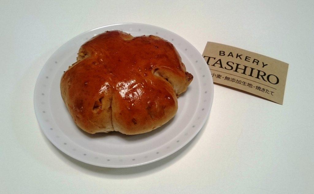 ベーカリータシロのくるみパン
