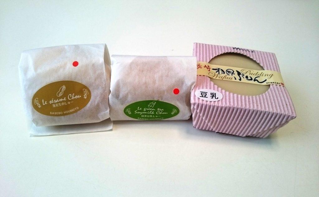 法本胡麻豆腐店で買える豆腐スイーツ