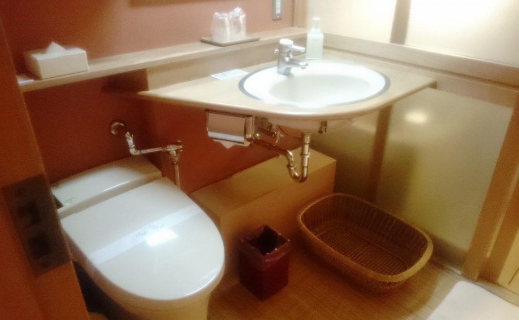 大正屋の洗面所