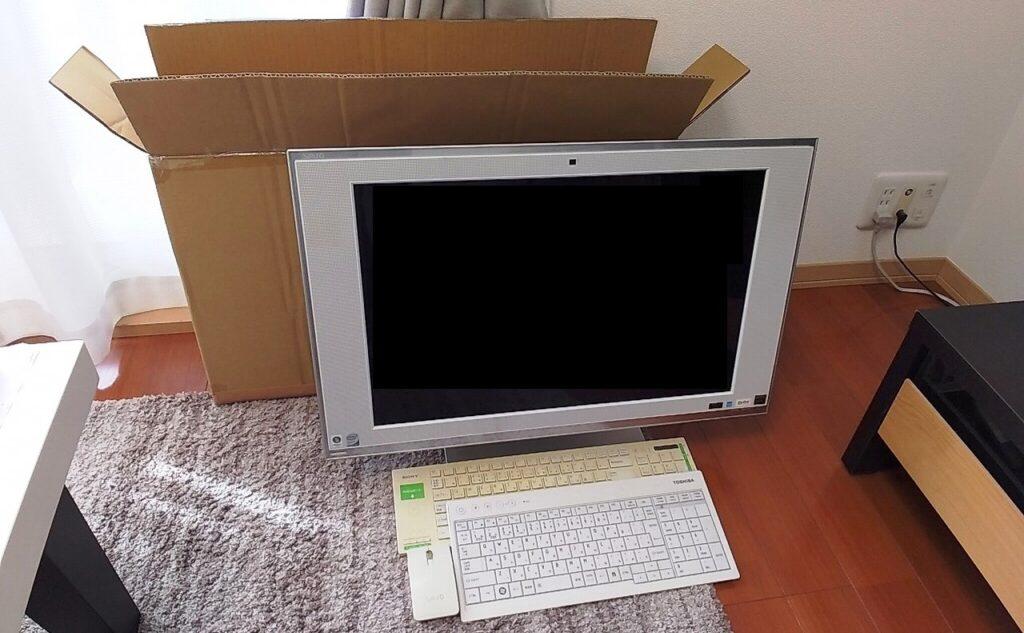 リネットジャパンで回収したパソコン